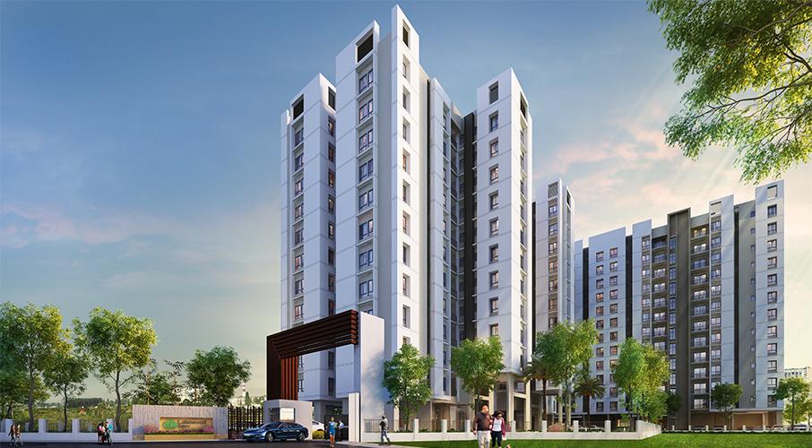 3 BHK flats in Patuli