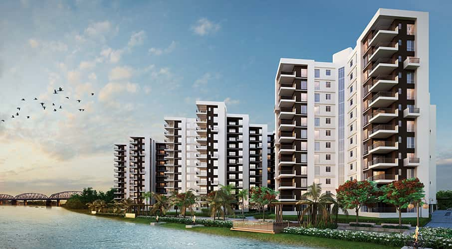 Buy 2 BHK & 3 BHK Flats in Uttarpara, Hooghly, Kolkata | Unimark Riviera