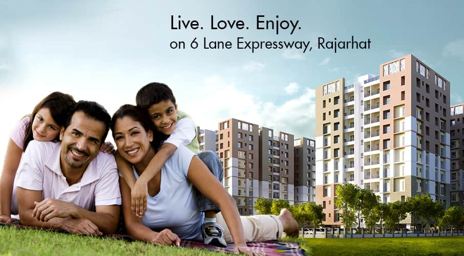 2 BHK & 3 BHK Flats for Sale in Rajarhat, Kolkata | Unimark Springfield
