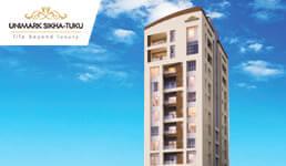 Buy 3 BHK Flats & Apartments in Tollygunge, Kolkata | Unimark Sikha-Tuku