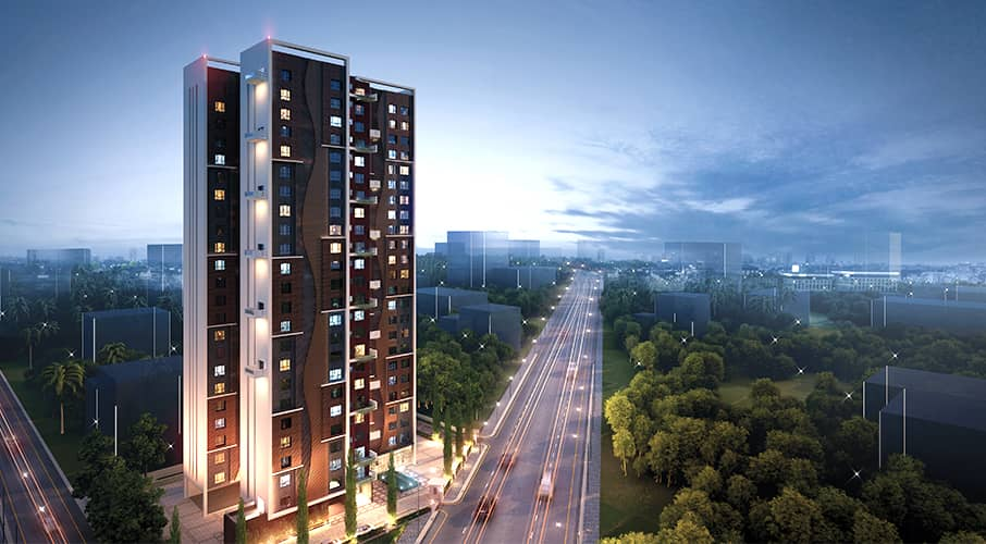 Flats & Apartments in Kankurgachi, Kolkata | Ramsnehi Unimark Tower